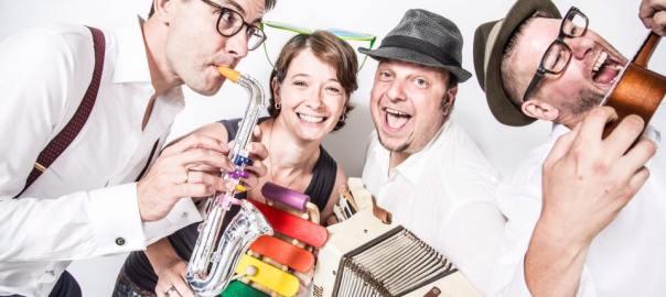 Die Hochzeitsband mit Sängerin von Birdman Music: Musik für Hochzeiten, Geburtstage und Events