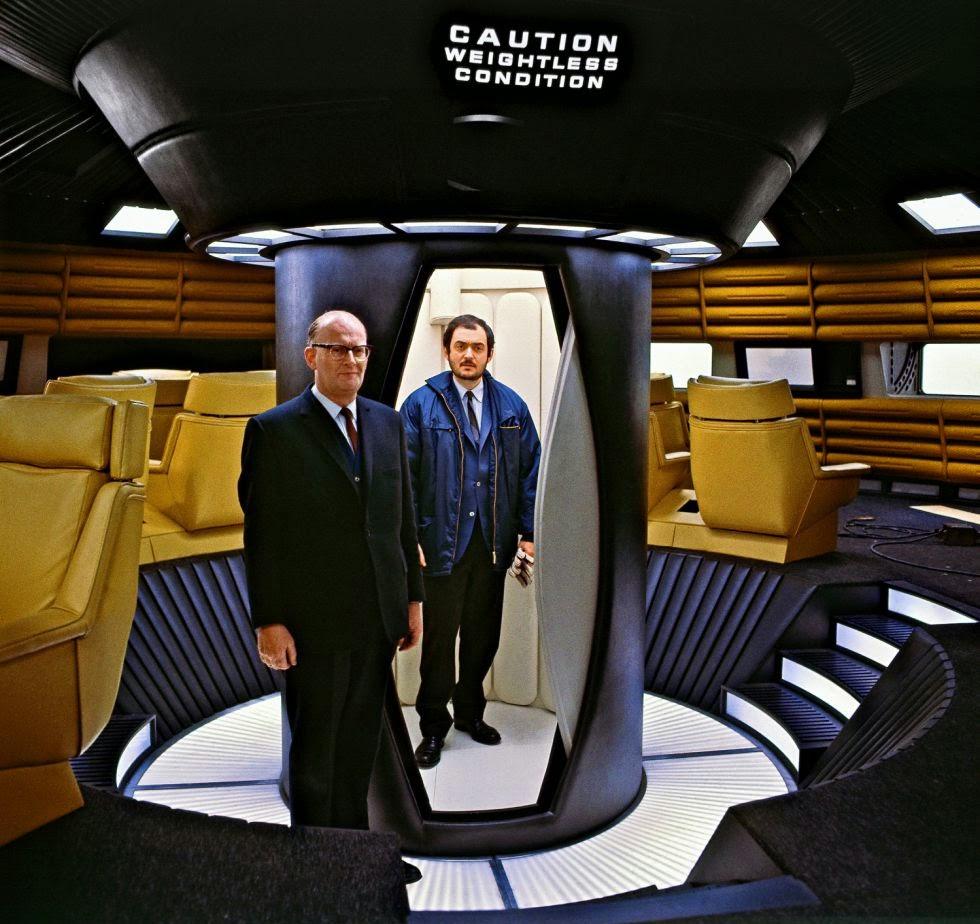 Kubrick e Clarke 2001