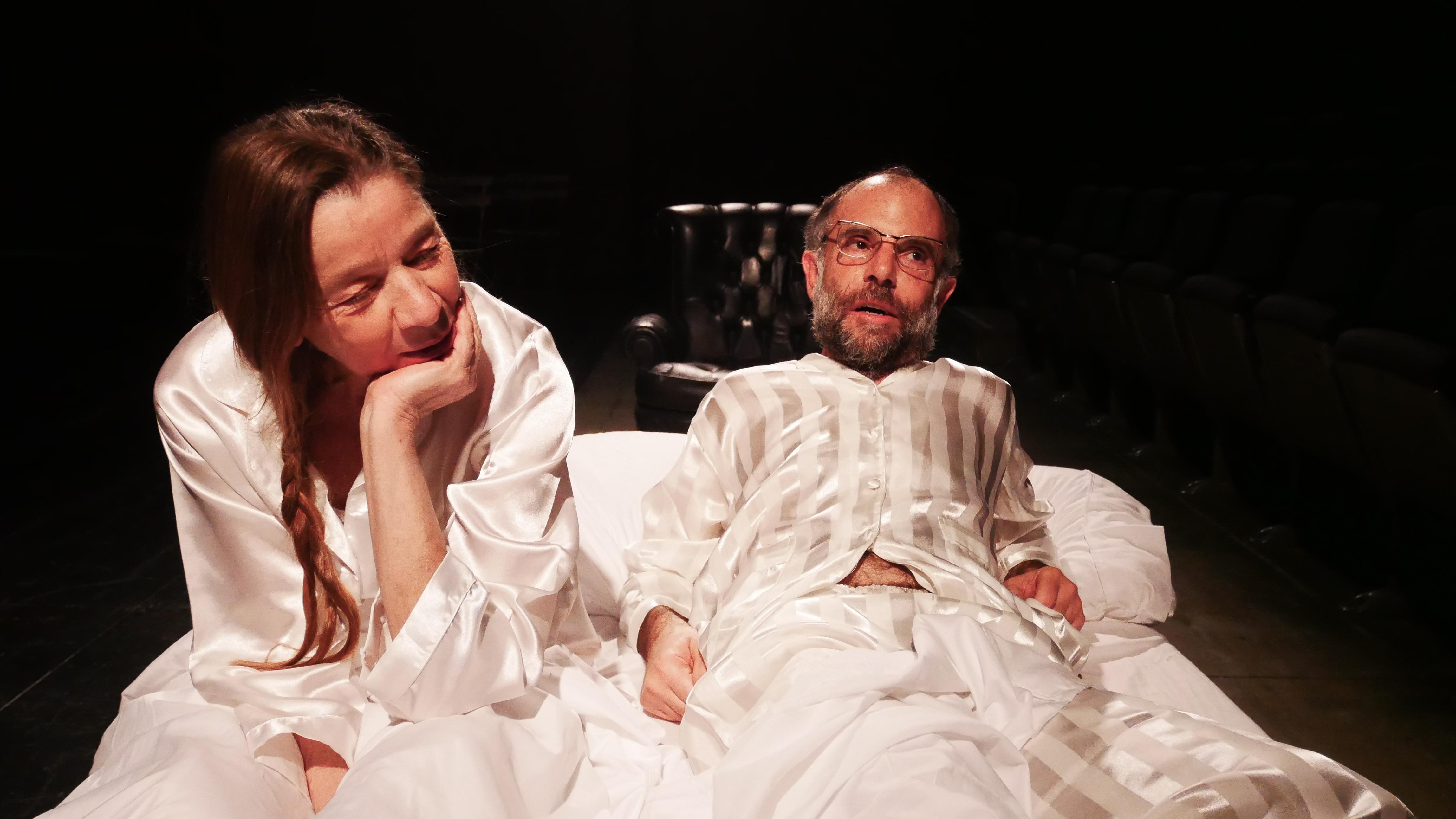 5 Oriz. Sleepless di C. Churchill regia Lorenzo Loris nella foto Elena Callegari, Mario Sala, Ph Davide Pinardi