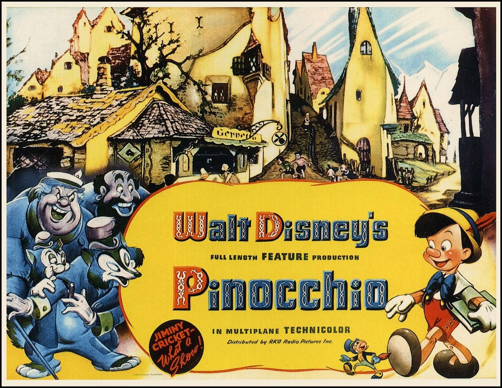 Pinocchio-Animazione