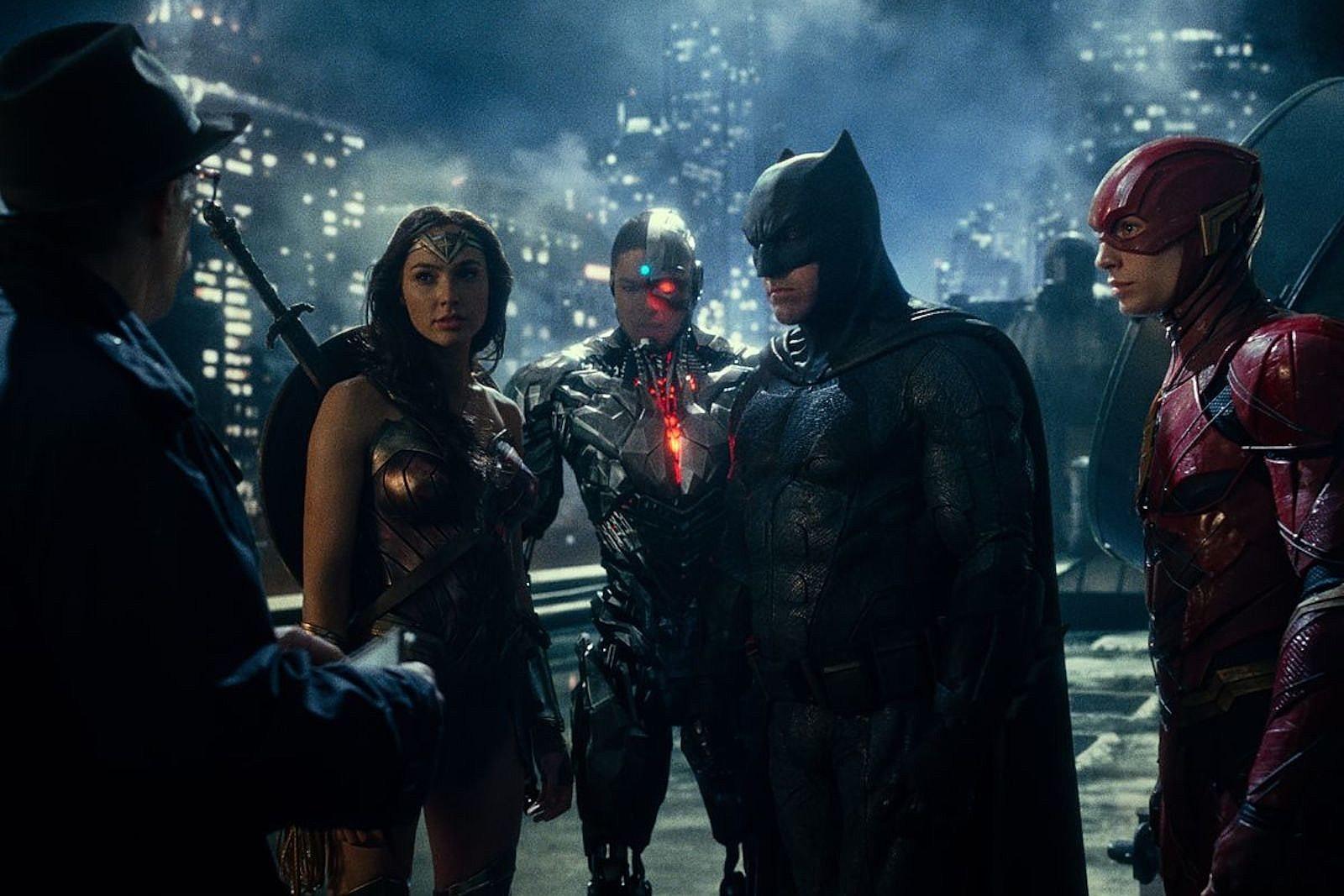 una scena dal film Justice League