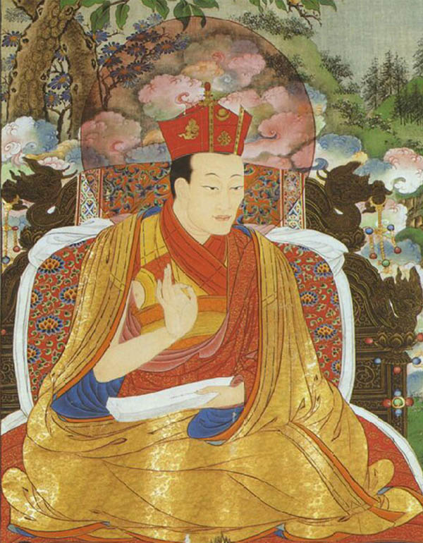 Konchok Yenlak, the 5th Shamarpa