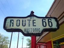 Panneau Road 66