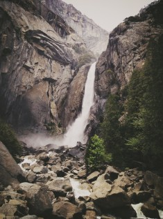 Yosemite Falls Lower