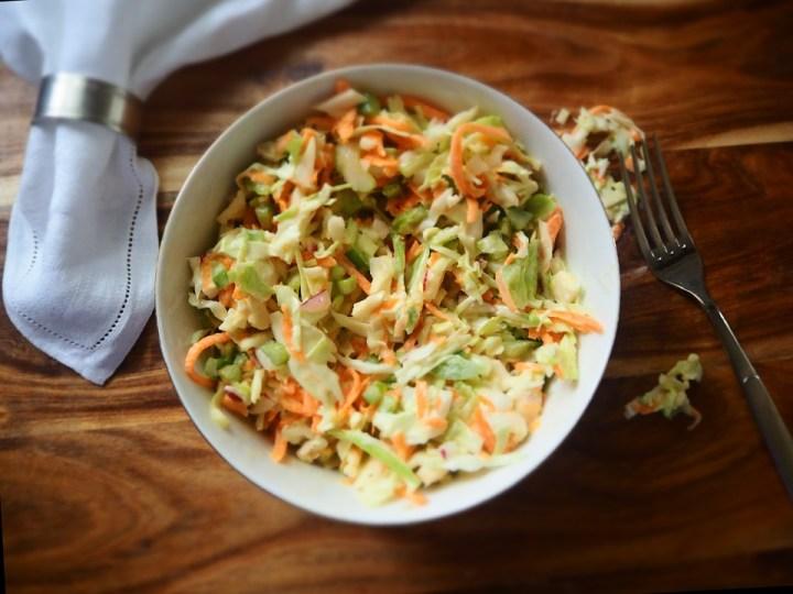 Recette du coleslaw new-yorkais