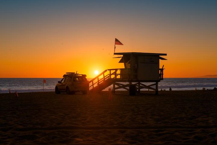 Admirer un coucher de soleil à Los Angeles