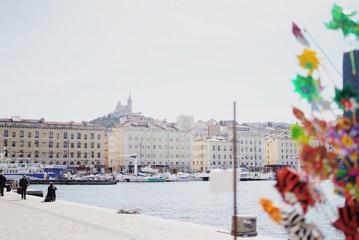 Vue Notre Dame Vieux Port Marseille
