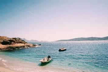 Vue plage Marseilleveyre