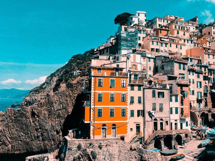 Cinque Terre en 5 couleurs