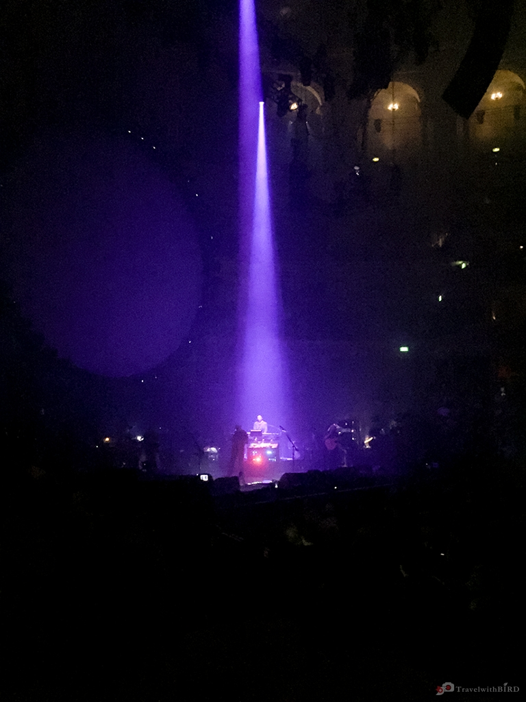 David Gilmour live on stage