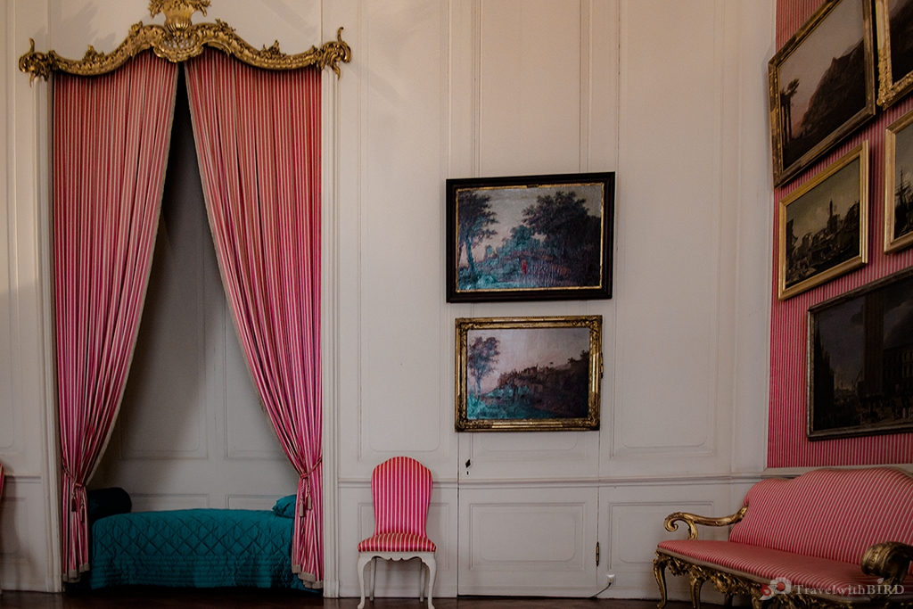 The Guest room in Palace Sanssouci