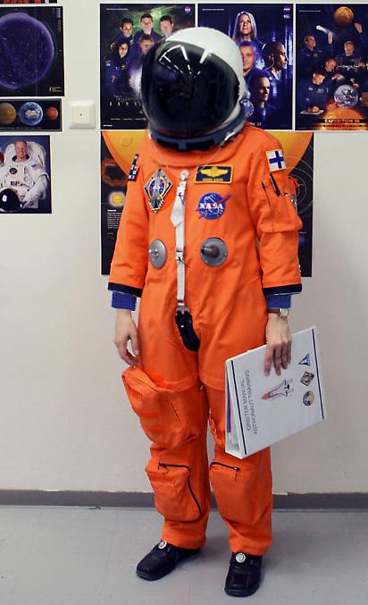 Handmade » Shuttle astronaut Aces suit