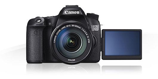 Canon EOS 70D camera
