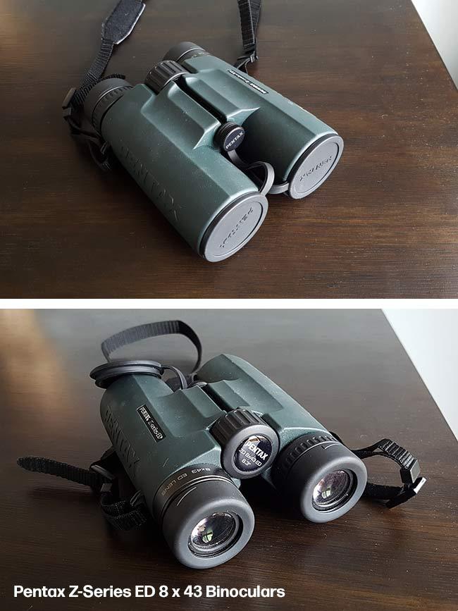pentax binocular review