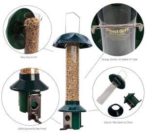 squirrel proof bird feeder design