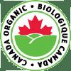 Canada Organic logo with caption