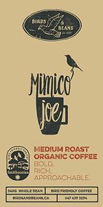 Mimico Joe label with new logo