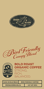 Bird Friendly Canopy Blend