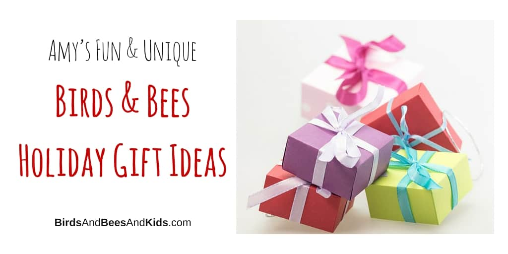 Fun and unique birds and bees gift ideas