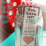 """Valentine, You Have Left Your Mark on My Heart"" Printable Bookmark"