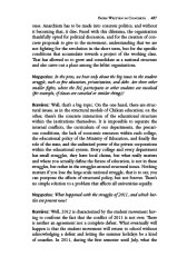 Interior page with interview. The End of the World as We Know It?, AK Press