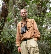 Sebastian Herzog, author of the Birds of Bolivia Field Guide