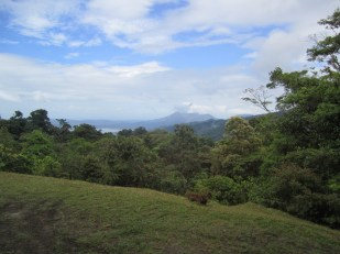 View of Arenal from the San Gerardo Field Station