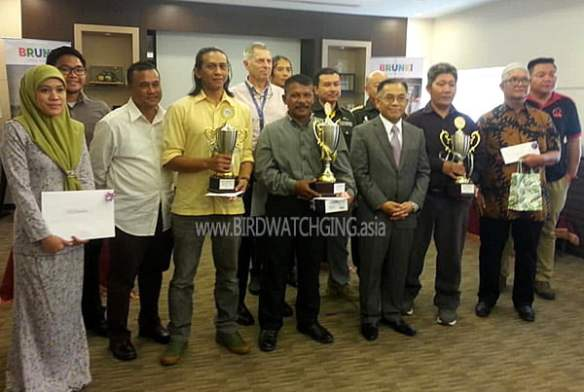 Series 1 Winners Brunei Bird Race 2019