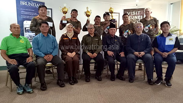 Winners Brunei Bird Race Series 2 Tasek Merimbun