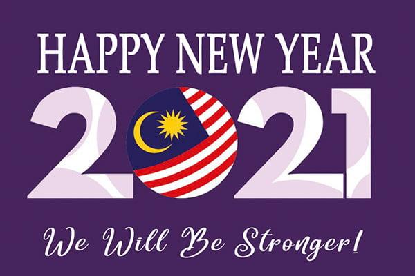 Malaysia Happy New Year 2021