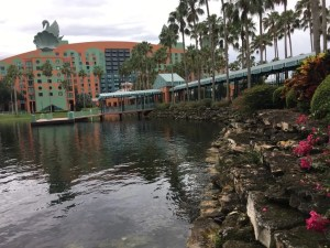 Disney Paths and Water Birds