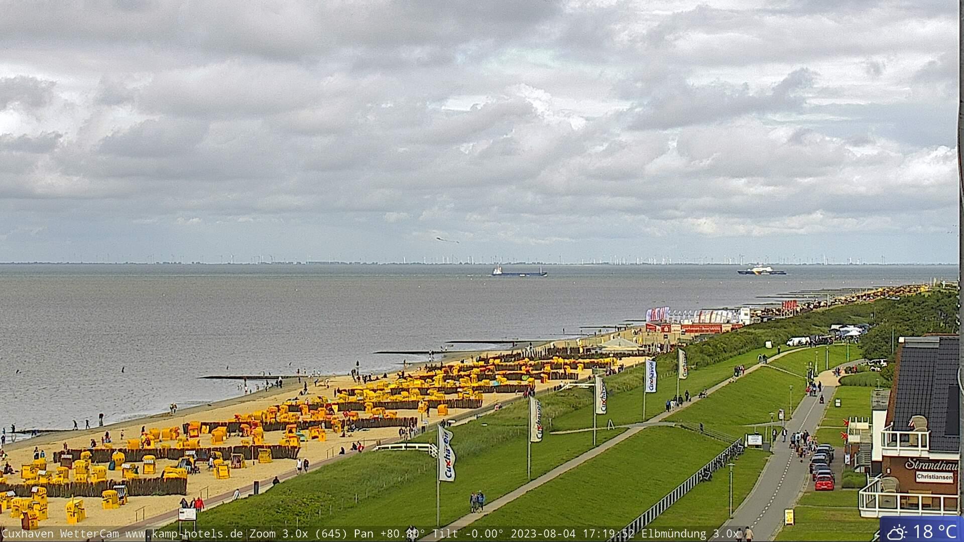Cuxhaven Webcam Radarturm Alte Liebe Cuxhaven