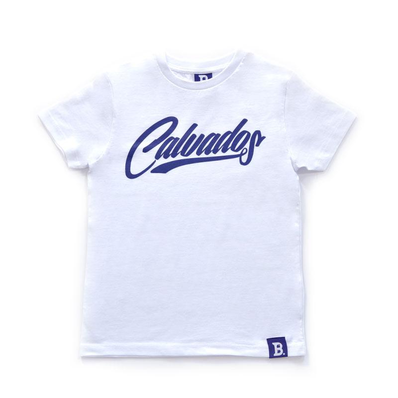 T-Shirt Calvados Blanc - Enfant