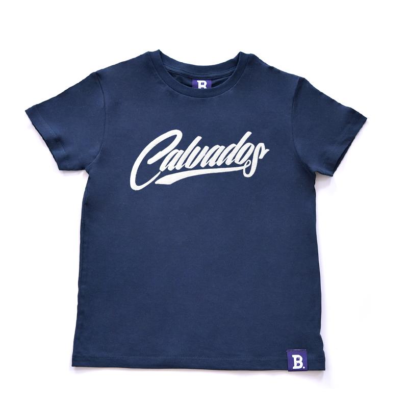 T-Shirt Calvados Bleu Marine - Enfant