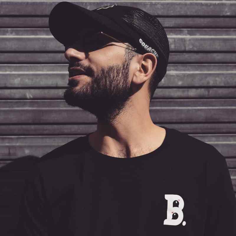 T-Shirt Birdz Noir - Homme