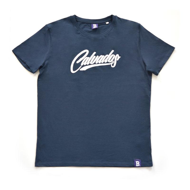 T-Shirt Calvados Bleu Marine - Homme