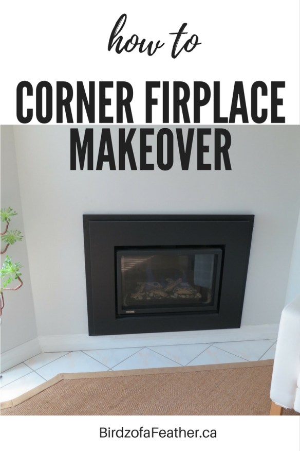 Once of the worst features in our house is the fireplace. Don't you just hate corner fireplaces? Our DIY brick fireplace makeover is finally complete! Birdz of a Feather | fireplace makeover ideas | diy fireplace makeover | fireplace makeover brick | fireplace makeover | fireplace makeover before and after | fireplace makeover diy | fireplace makeover modern | fireplace diy | fireplace diy ideas | fireplace diy makeover | fireplace remodel