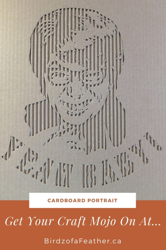 Yeah Baby! Turn a Headshot Photo Into a Cardboard Portrait | Birdz of a Feather