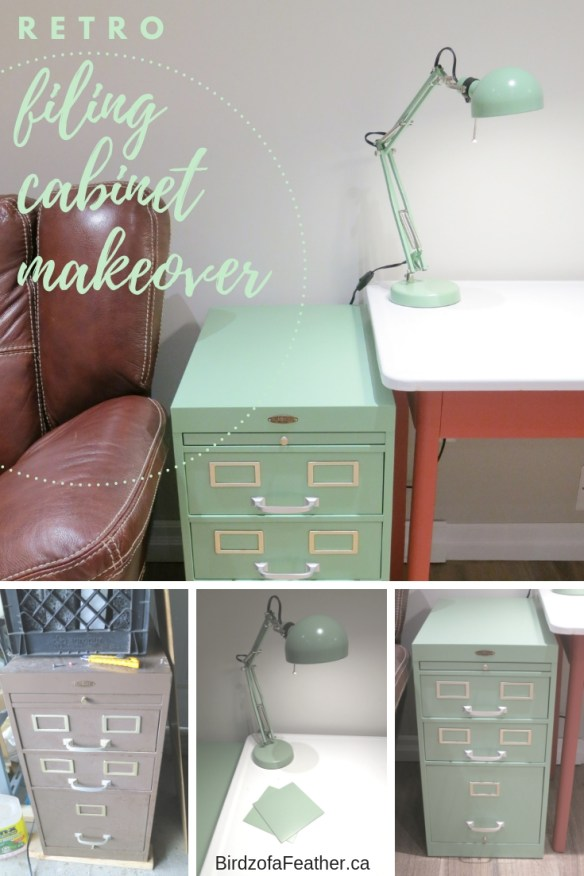 Filing Cabinet Makeover | Birdz of a Feather | vintage filing cabinet | vintage filling cabinet makeover | retro filing cabinet ##DIY #PaintedFurniture #Upcycle #upcycling #upcycled #filingcabinet #filingcabinetmakeover #diyfurniture #furnituremakeover #storage #mancave #retro #industrial #industrialdesign #vintage #smallspaces