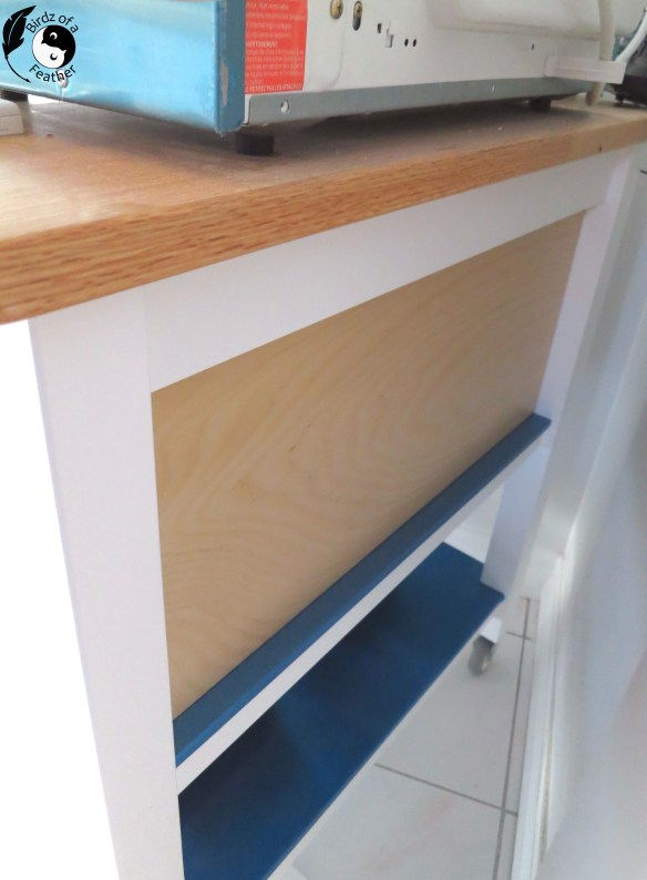 Upcycle an Ikea storage cart with the 'turducken' of Ikea upcycles! We built a removable set of drawers to add closed storage space! Birdz of a Feather | IKEA | Ikea cart | ikea cart ideas | ikea hacks | ikea upcycle | Ikea stenstorp | cart upcycle | microwave stand | microwave stand ideas | microwave stand diy | kitchen cart | kitchen cart diy | kitchen cart ideas | #birdzofafeather.ca #Ikea #homedecordiy #ikeahack #ikeacart #stenstorp #kitchencart #kitchen