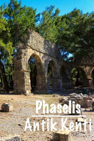 Phaselis Antalya En Güzel Antik Kenti