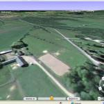 Satellitfoto 3D