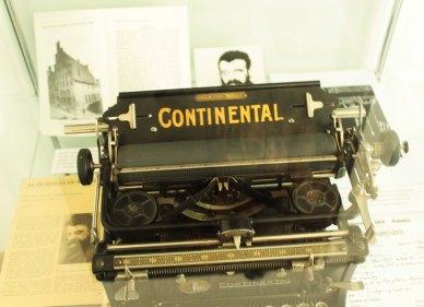 Mühsams Schreibmaschine.