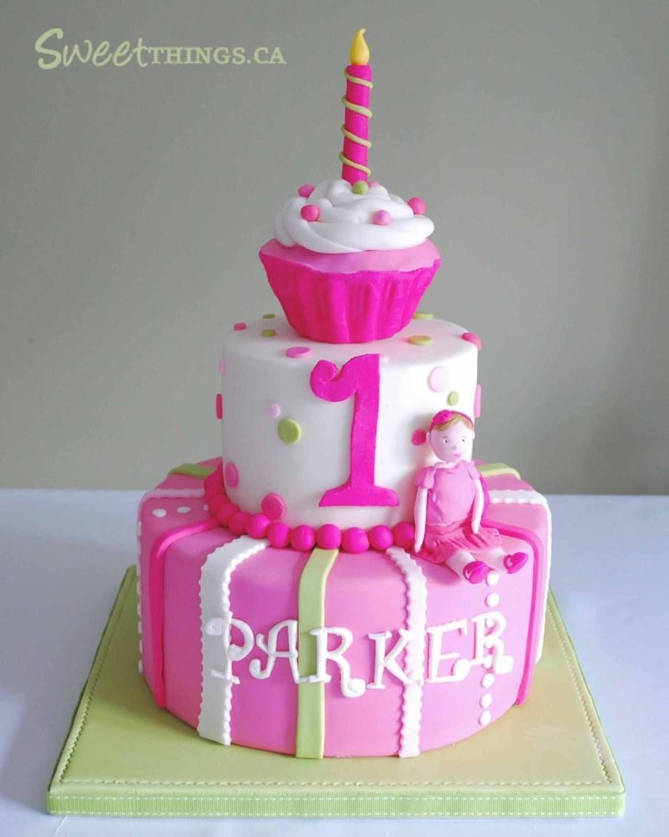 Wondrous 1St Birthday Cake Girl 1St Birthday Girl Ideas Cake 1St Birthday Funny Birthday Cards Online Barepcheapnameinfo