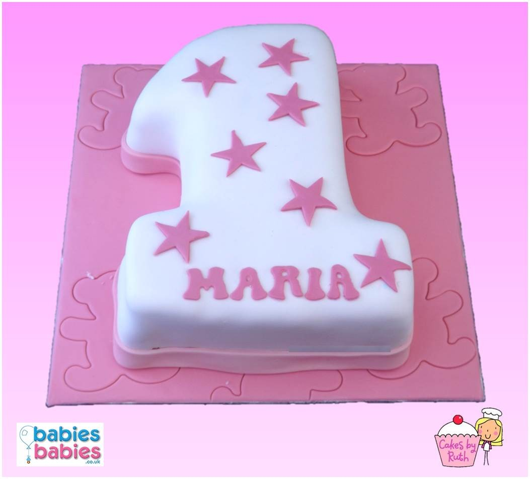 Magnificent 1St Birthday Cake Girl Girl First Birthday Cake Birijus Com Personalised Birthday Cards Veneteletsinfo