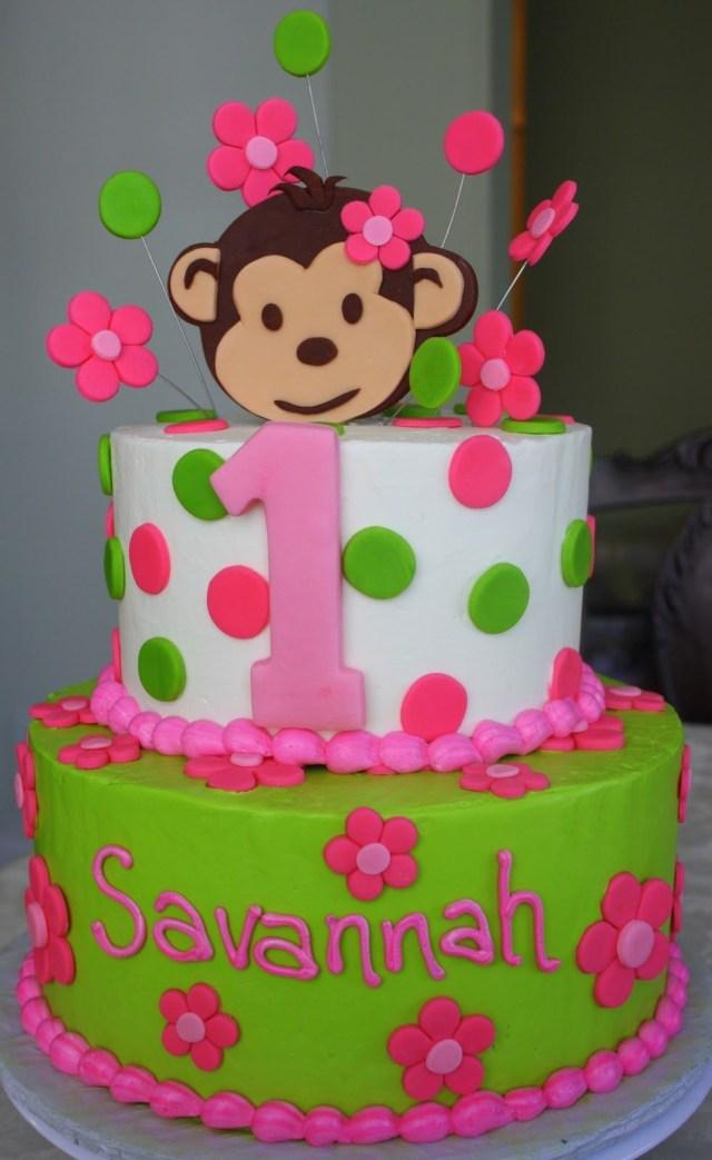 Miraculous 27 Brilliant Picture Of 1St Birthday Girl Cakes Birijus Com Funny Birthday Cards Online Kookostrdamsfinfo