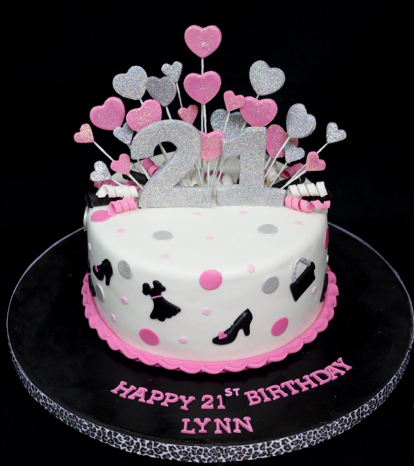 Enjoyable 21 Birthday Cakes For Her 21St Birthday Cakes Decoration Ideas Personalised Birthday Cards Veneteletsinfo