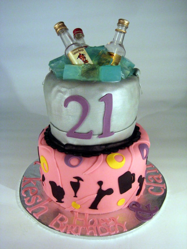 21St Birthday Cake 21st Birthday Cakes Decoration Ideas Little Birthday Cakes