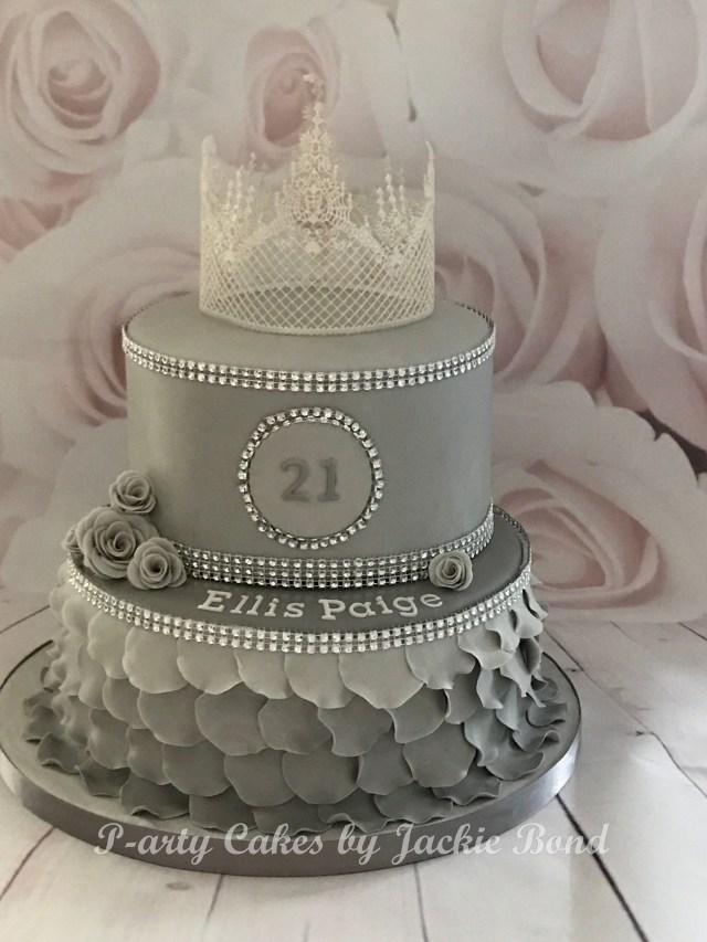 21St Birthday Cake Princess 21st Birthday Cake My 21st Pinterest 21st Birthday
