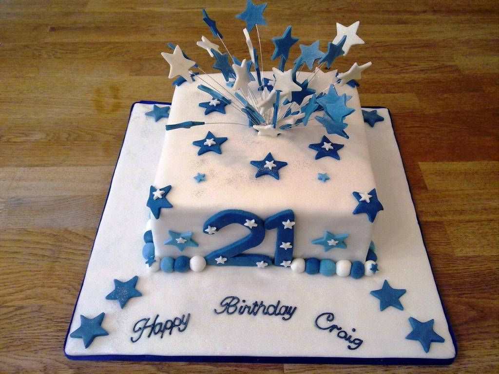 Brilliant 21St Birthday Cakes For Him 21St Birthday Cakes For Guys Wedding Funny Birthday Cards Online Fluifree Goldxyz